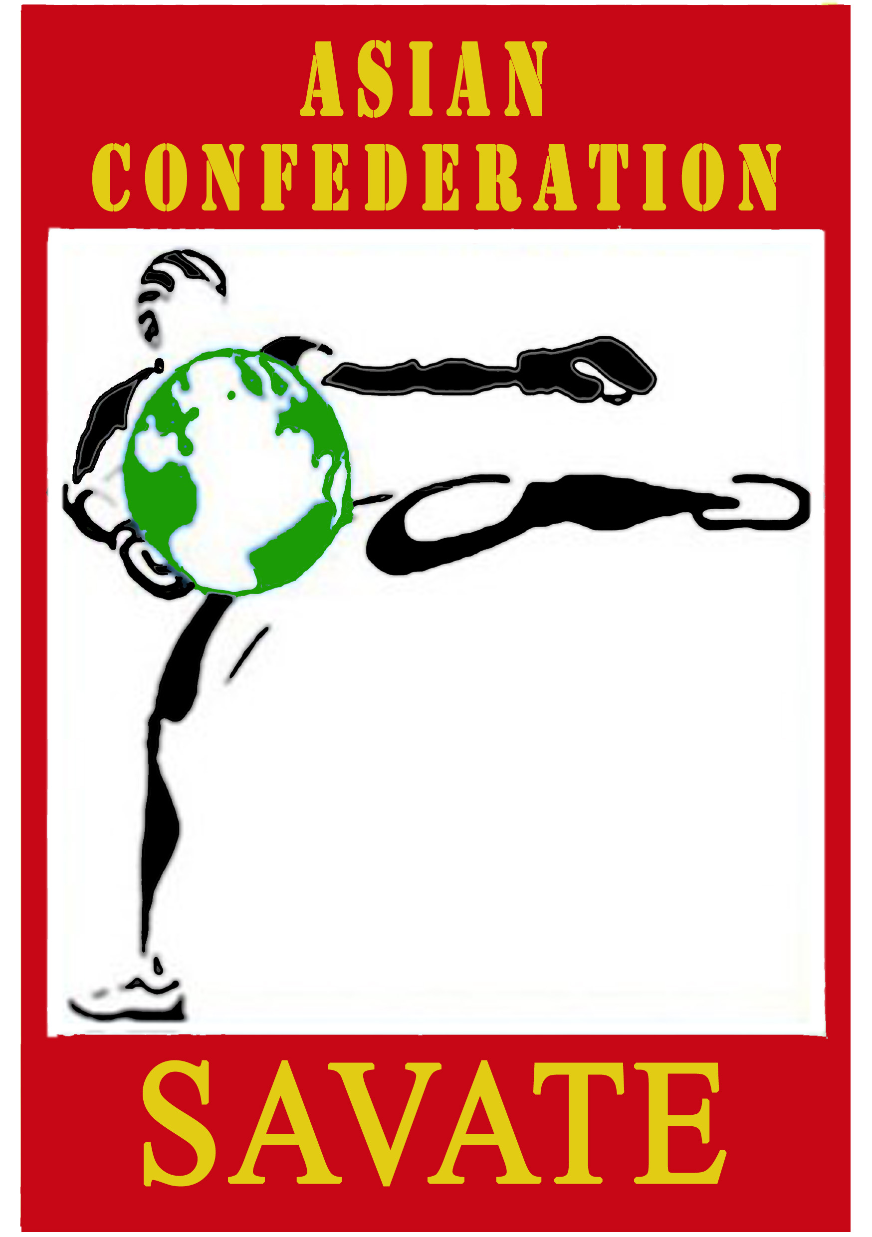 Asian Savate confederation logo