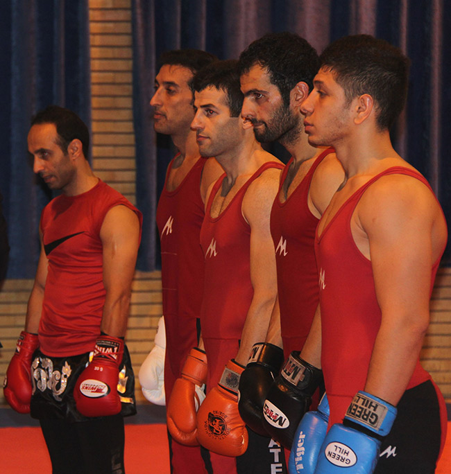 6th national Savate championships, Tehran, Iran